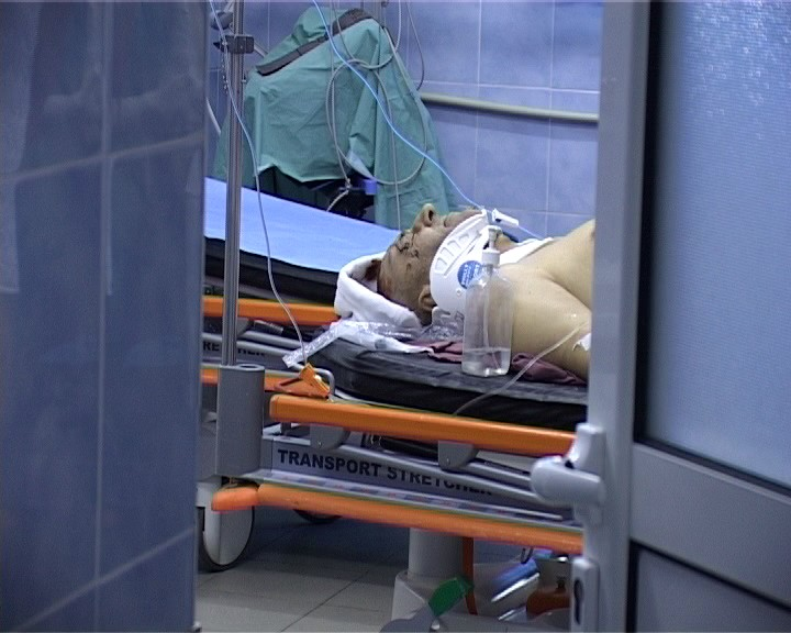 batut pe targa la spital, stiri, botosani