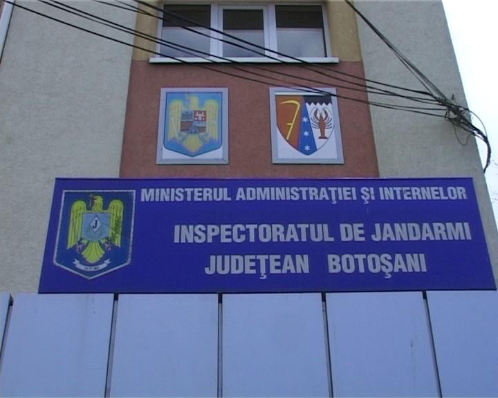 Inspectoratul Judetean de Jandarmi - IJJ Botoşani