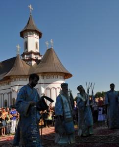 manastire zosin - slujba de Sfanta Maria