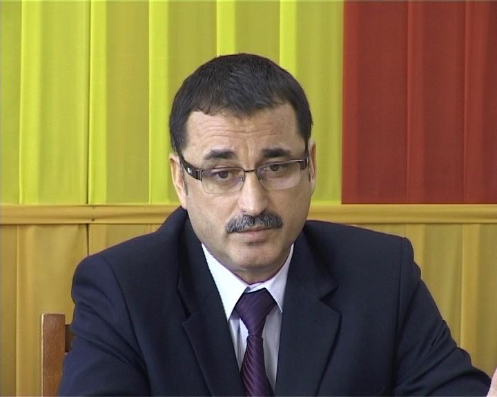 Şeful Inspectoratului Judeţean de Poliţie, comisarul şef Viorel Şerbănoiu