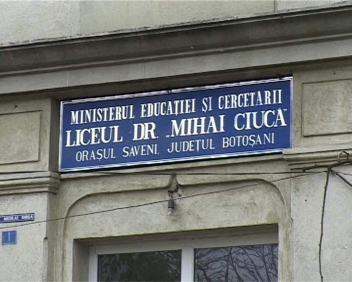 Liceul Mihai Ciuca Saveni