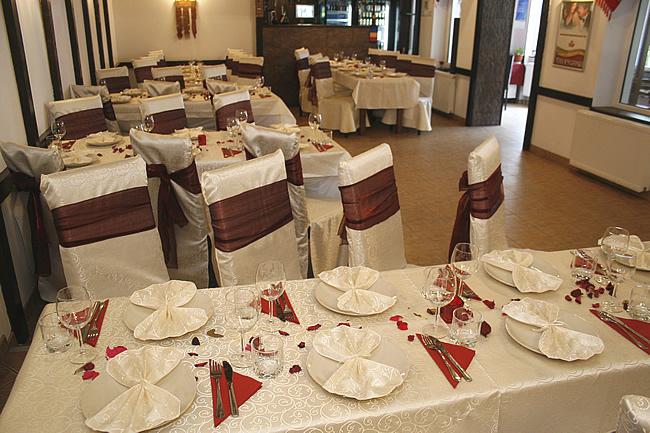 restaurant pregatit pentru petrecere Botosani