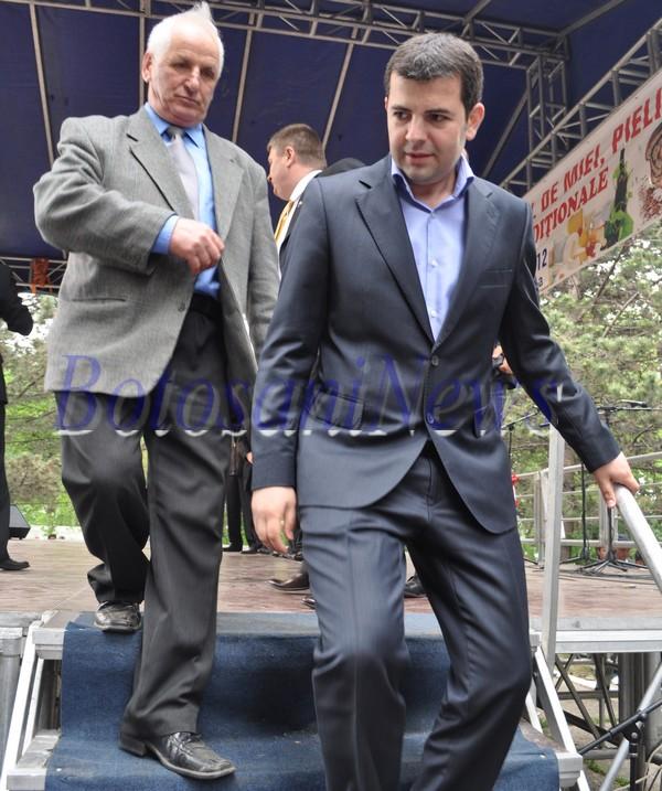 Ilie Chiorascu si Daniel Constantin la Popauti