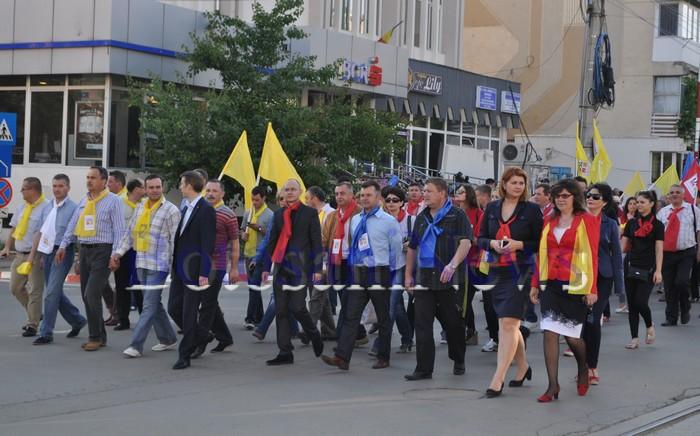 miting electoral USL Botosani