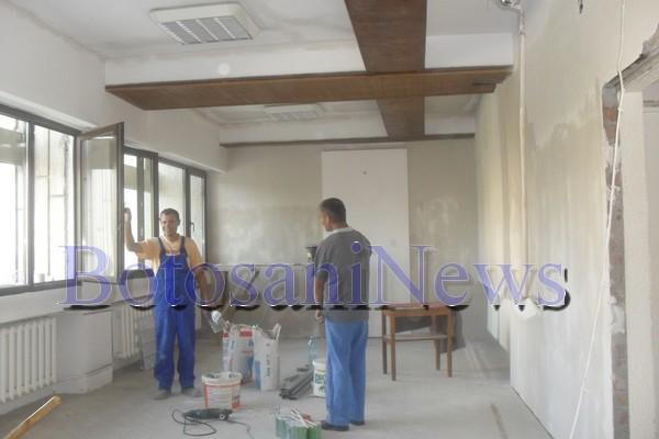 birou turcanu in renovare