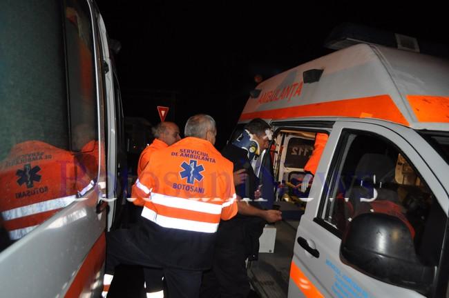 accident masina Politiei