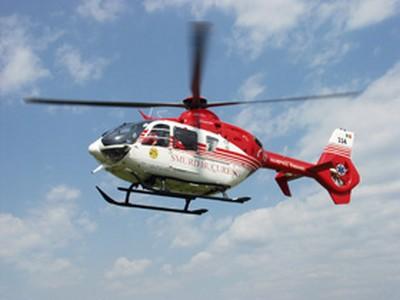 elicopter smurd in aer la Botosani