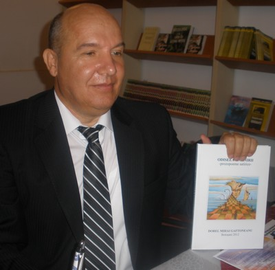 poetul botoşănean Dorel Mihai Gaftoneanu