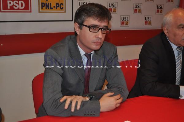 Andrei Dolineaschi la conferinta PSD Botosani