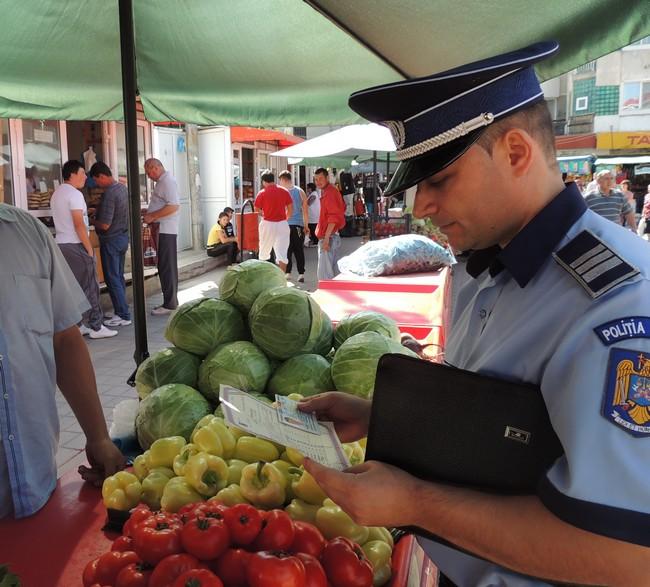 politisti control piata