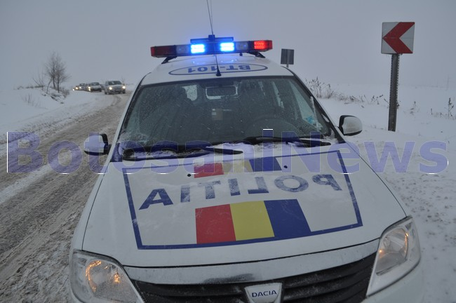 politie rutiera iarna botosani