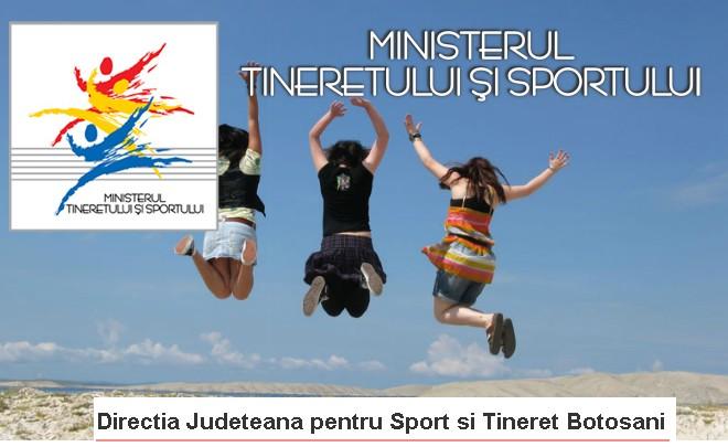 Directia Judeteana pentru Sport si Tineret Botosani