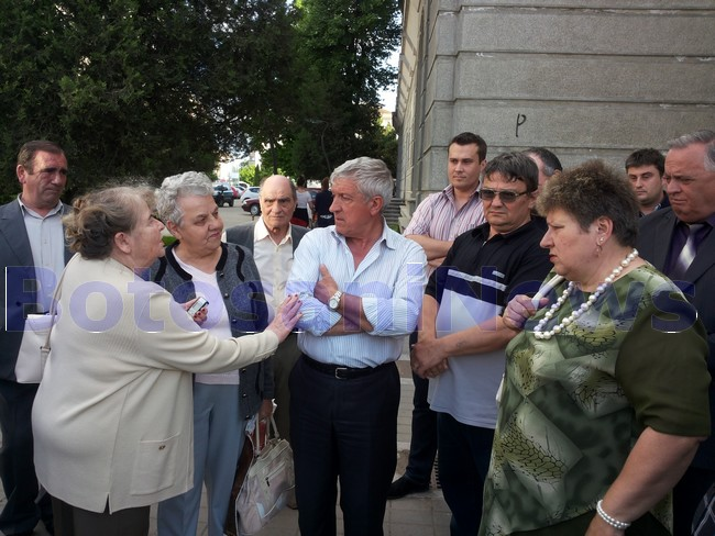 Mircea Diaconu in campanie la Botosani