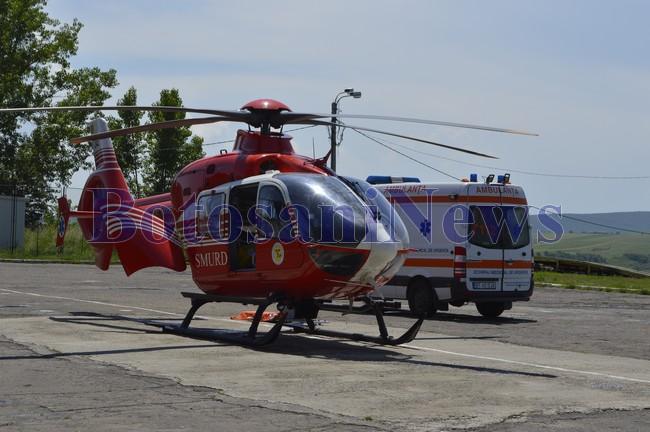 elicopter ambulanta acr botosani