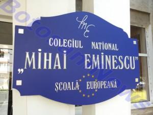 Colegiul National Mihai Eminescu, stiri, Botosani