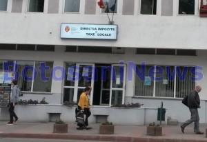 Directia de Impozite si Taxe Locale - Primaria Botosani