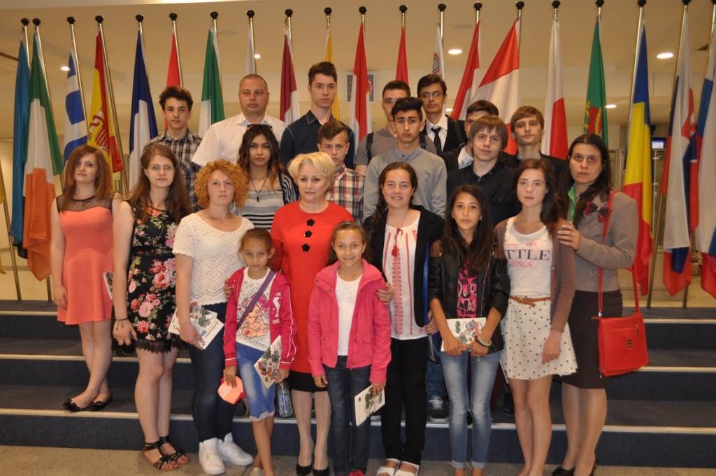 elevii olimpici din Botosani la Bruxelles