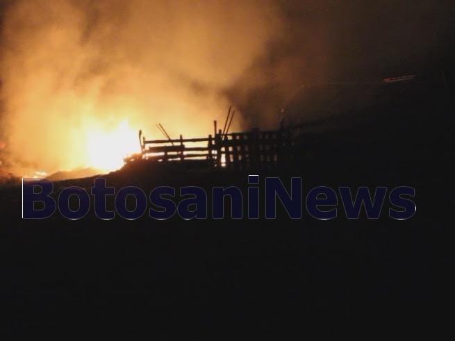 incendiu -stana Botosani