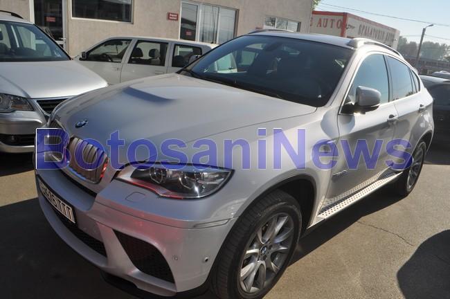 BMW-ul X6 al europarlamentarului Mihai Turcanu