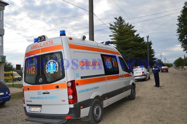 ambulanta politie accident unteni- botosani
