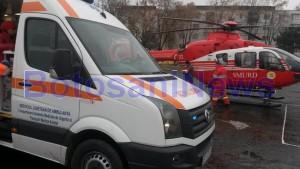 ambulanta botosani- elicopter SMURD