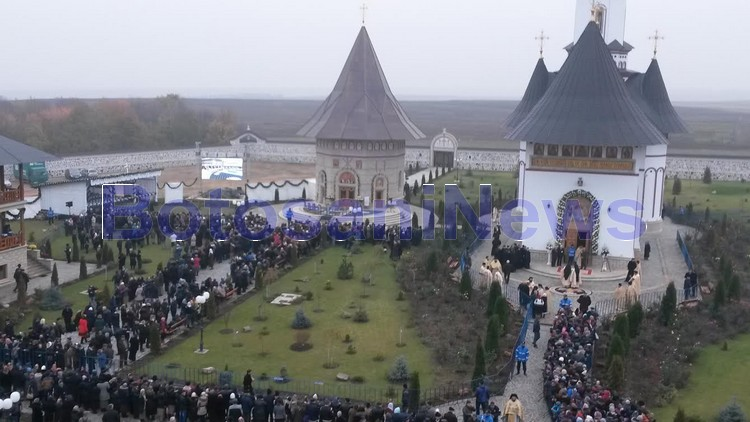 patriarh daniel la manastirea zosin- Botosani
