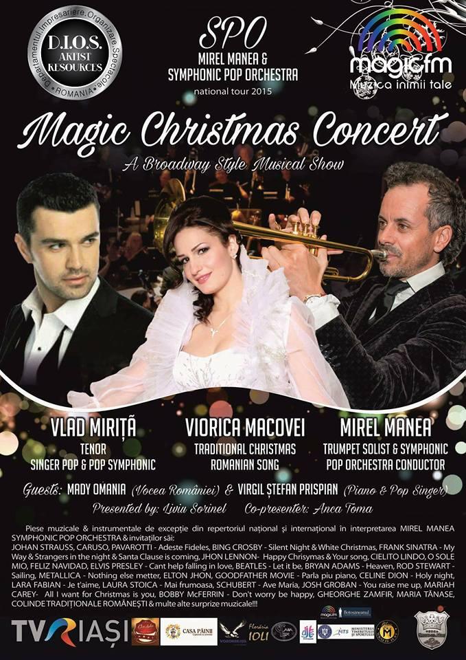 Magic Christmas Concert la Casa Sindicatelor Botosani
