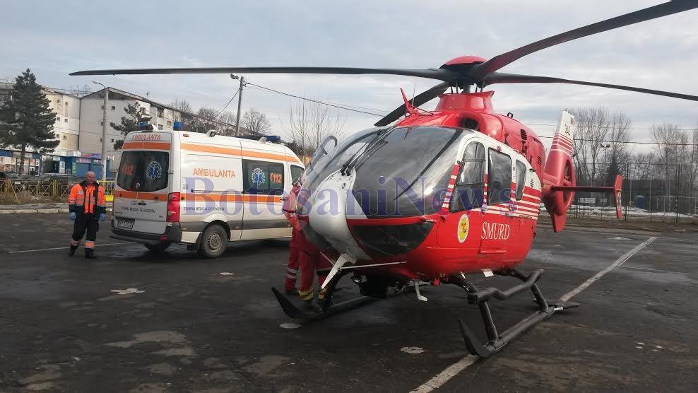 elicopter SMURD - Botosani