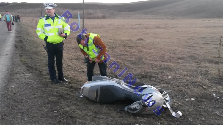 accident lebada- motoscuter- moped
