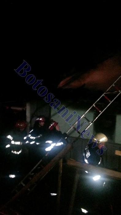 incendiu cu 2 victime - cordareni - botosani