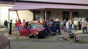 accident la Darabani -Botosani