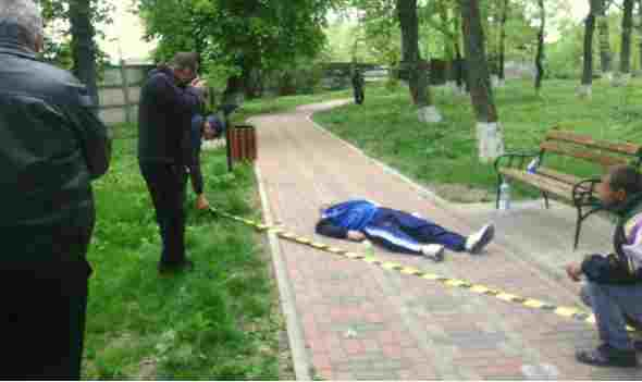 barbat gasit mort in parc la dorohoi- botosani