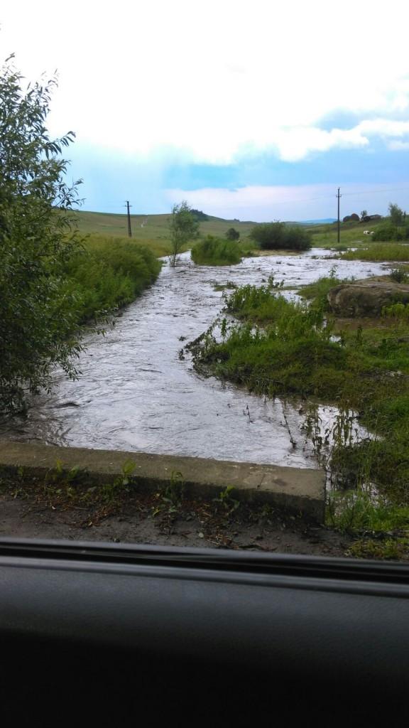 inundatii - parau- pomarla- botosani