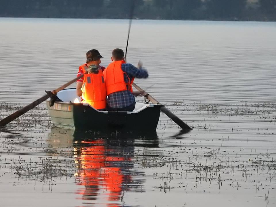 portariuc la pescuit pe Prut