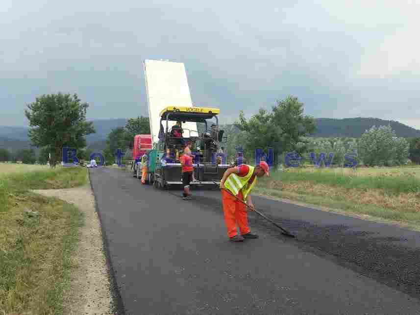 asfaltare drum- botosani