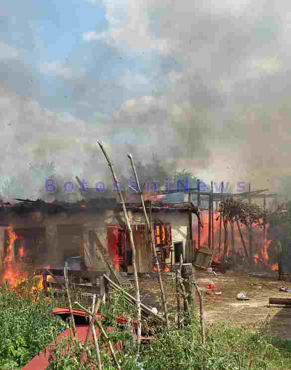 incendiu suharau- botosani