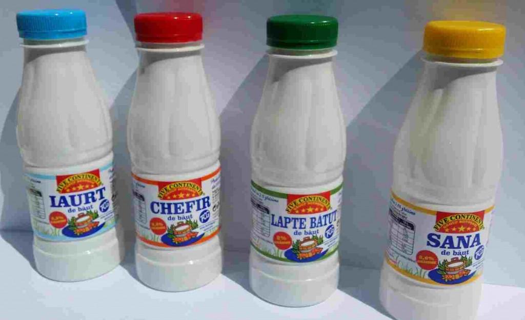 produse lactate de baut de la Five Continents Group Botosani