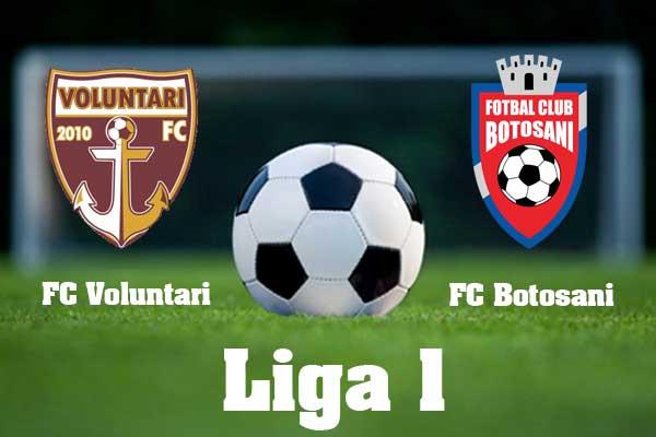 FC voluntari- FC botosani