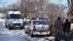 criminalisti iarna politisti mort, stiri, botosani