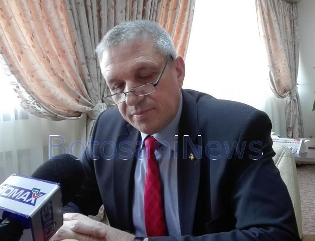 costica macaleti- pesedintele Consiliului Judetean Botosani