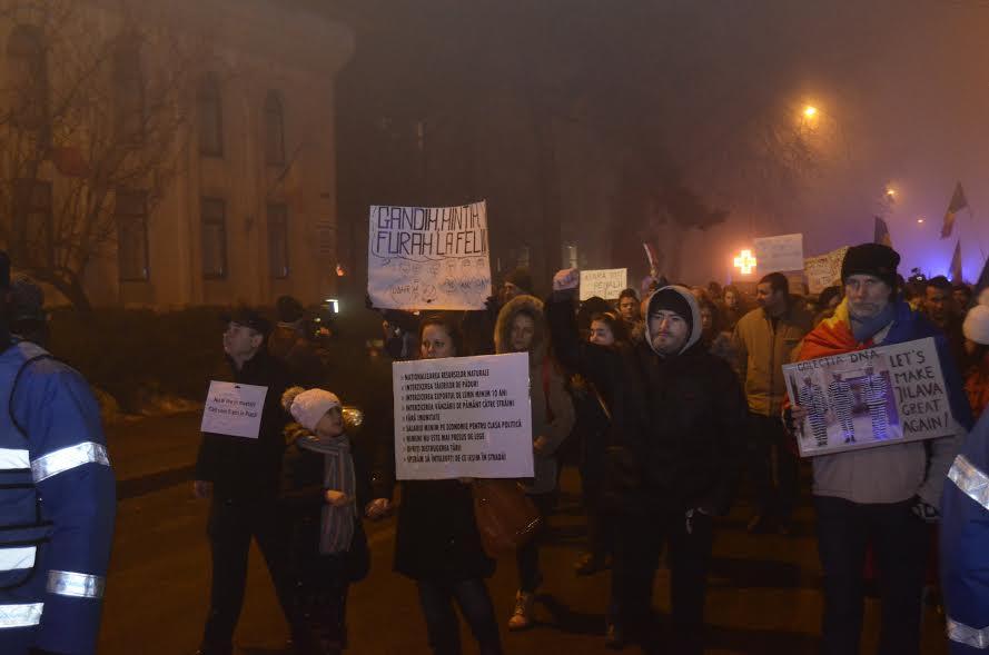 mars anti - psd la botosani