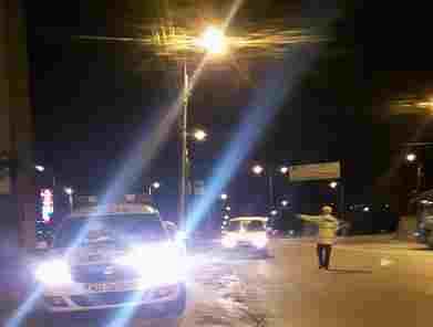 politia rutiera- razie seara - botosani