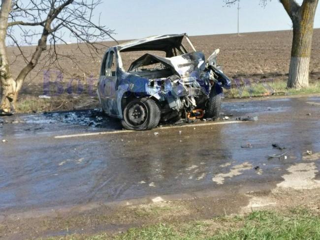 masina arsa accident cucuteni