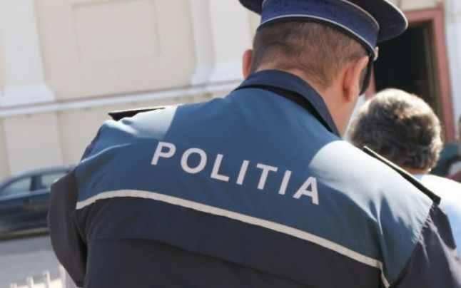 politist cu spatele, stiri, botosani