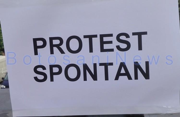 protest spontan, stiri, botosani