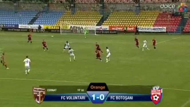 fc voluntari- FC Botosani 1-0