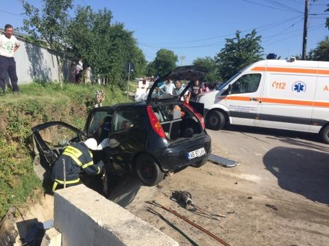 accident intersectie cristesti- botosani