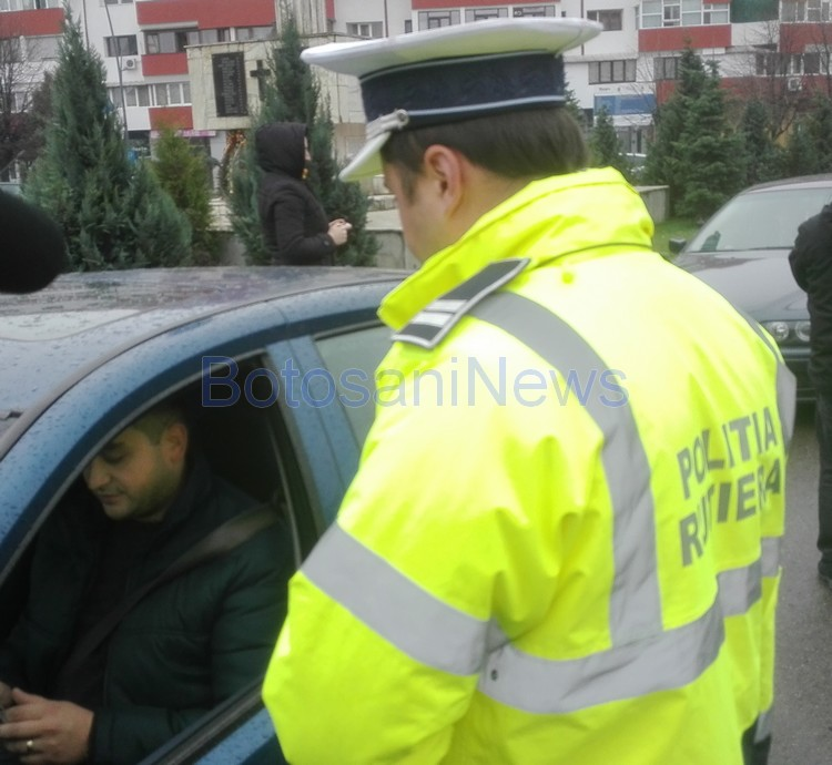 politie rutiera controale , stiri, botosani