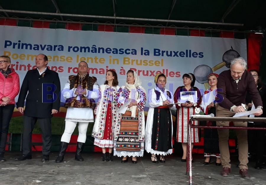 Brandusa Covalciuc Ciobanu la Bruxelles, stiri, botosani