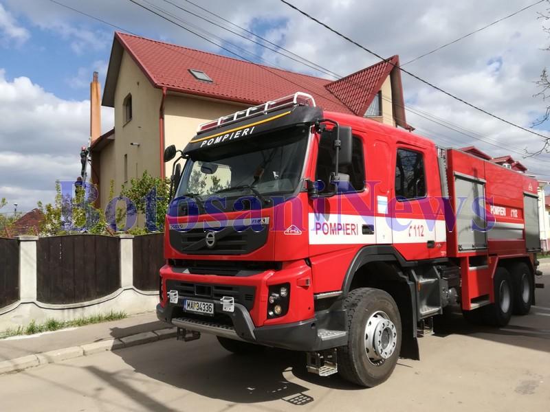 incendiu, casa, stiri, botosani , pompieri